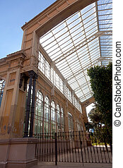 Greenhouse in ciudadela park