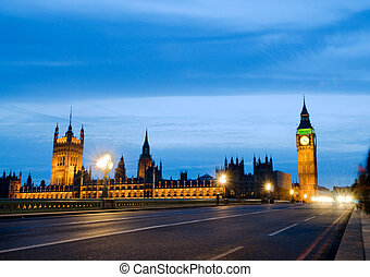 house of parliment big ben - Big Ben and the house of...