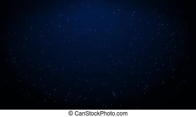 Twinkling Stars 1 - Stars twinkle in the night sky