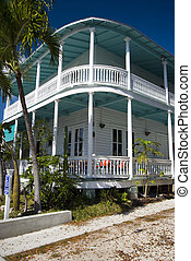 typical house key west florida - typical house architecture...