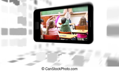 Videos of a primary classroom