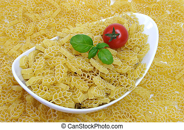 Noodles with tomato in a bowl - Noodles prepared for...