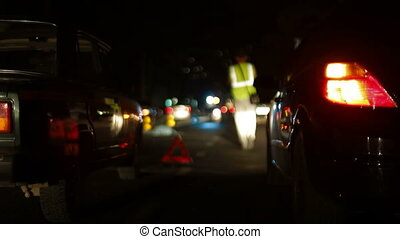 Victim in a Road Accident - The worst case accident, the...