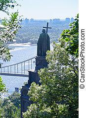 Monument to Prince Vladimir in Kiev - Monument to Prince...