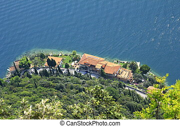 view on lake Garda - View on lake Garda and the West Coast...