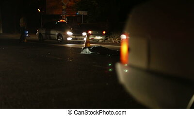 Auto Accident on the Night City - The worst case accident,...