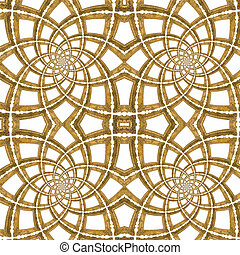 Golden Seamless Pattern - Golden Picture Frames Seamless...