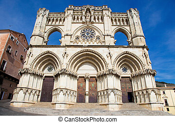 Cathedral of Cuenca in Castille La Mancha, Spain.