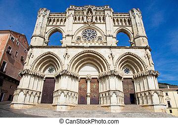 Cathedral of Cuenca in Castille La Mancha, Spain.