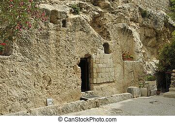 Jesus tomb Jerusalem
