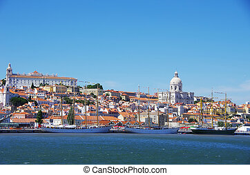 Landscape of Lisbon, Portugal