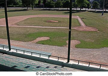 Baseball Field from the Bleachers