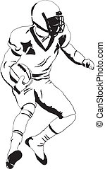 Player in American football
