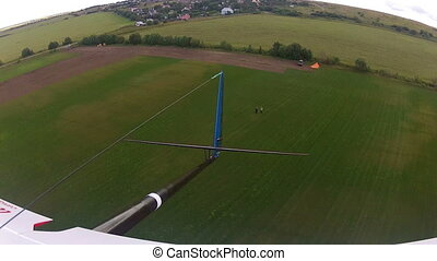 Flying over the Countryside