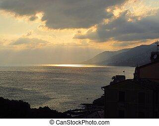 Italian Coast - Sunset at Italian Coast...