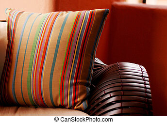designer pillows - A photograph of Designer pillows