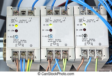 Power supply of electric current