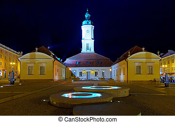 Town Hall in Bialystok - Town Hall on the Main Market in...