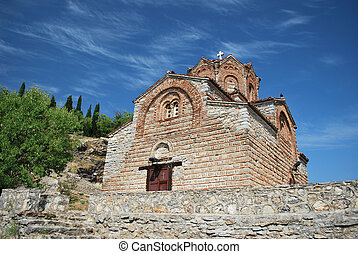 Ohrid, Church St. John/Jovan Kaneo