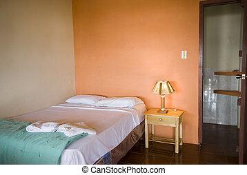 native hotel room montanita ecuador