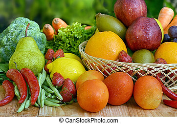 Best Fruit and Vegetables Picture - Fresh Fruit and...