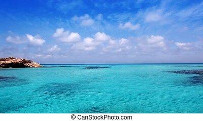 Es Calo de San Agusti port in beach - Es Calo de San Agusti...