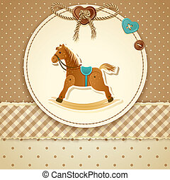 Baby Shower Invitation - Vector illustration - Baby Shower...
