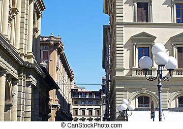 Streetview of Florance Italy - a streetview of Florance...