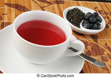 Green tea with Acai and blueberry