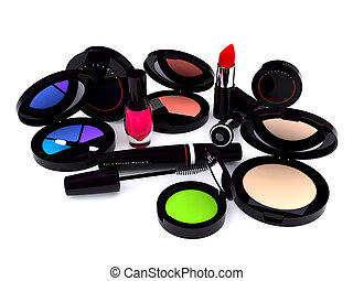 Make-up series - Black make-up series