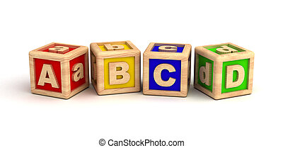 Alphabet - Play Blocks