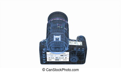 Digital SLR camera - image of digital SLR camera