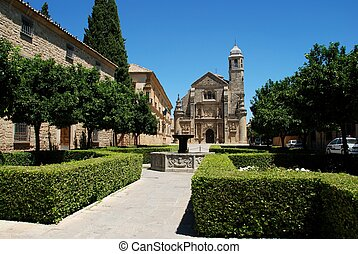 Capilla del Salvador, Ubeda, Spain. - The Sacred Chapel of...