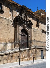 Holy Trinity Church, Ubeda, Spain. - Holy Trinity church and...
