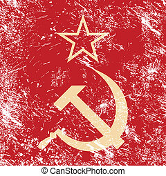 Communism CCCP - Soviet union retro - Old red Russian...