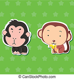 cute animal stickers 02 - cute animal stickers with...