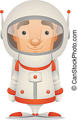 Astronaut - Cartoon Character