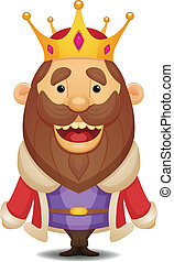 Cartoon King - Cute Cartoon Character