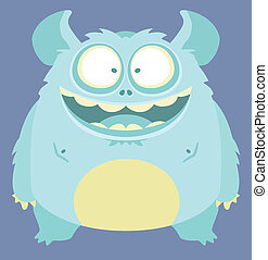 Cute Monster - Cartoon Character
