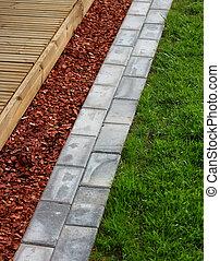 Modern home garden materials - Modern home garden terrace...