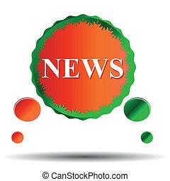 News vector icon