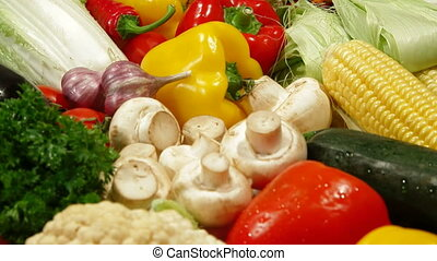 Assortment of Fresh Vegetable