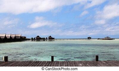 tropical island resort, kapalai, sipadan,