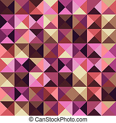 Abstract geometric vintage background