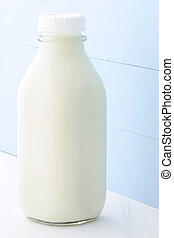 quart glass milk bottle - Delicious, nutritious and fresh...