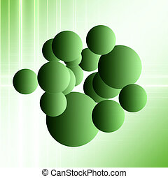 Abstract wonderful bubble background design