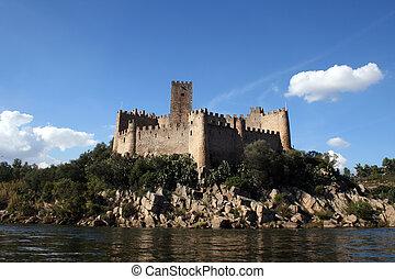 Castle 2 - Almourol Castle (Castelo de Almourol) is a...