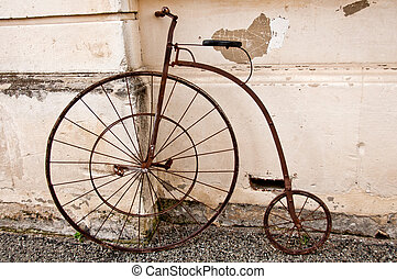 Penny Farthing bicycle - Antique penny farthing bicycle