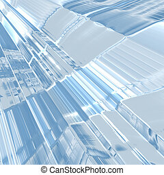 Abstract stained glass background