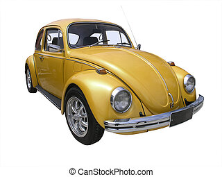 1970 Volkswagen 1500 - 1970 Volkswagen isolated with...